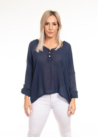Sorrento Top      NAVY