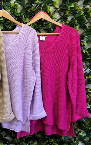 Mila Knit        FUSCHIA