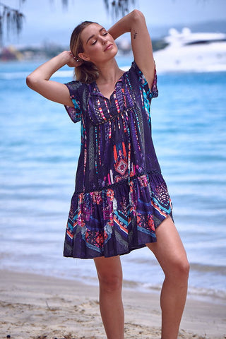 Jess Dress       RAHI PRINT