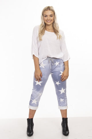 Lipari Star Pant       LIGHT BLUE