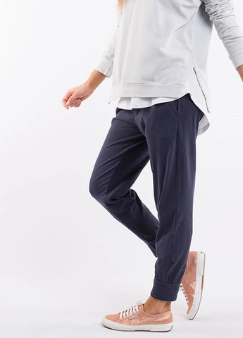 Elm Washout Lounge Pant      NAVY