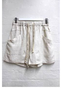 Luxe Shorts        CREAM