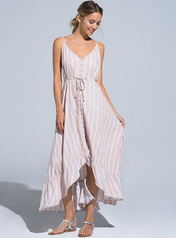 Esmeralda Maxi Dress   Rose