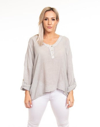 Sorrento Top      Light Grey