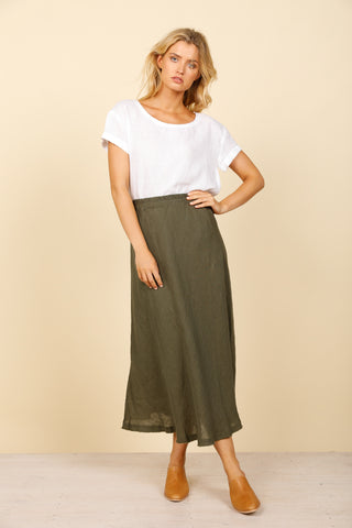 Sicily Skirt      JUNGLE GREEN