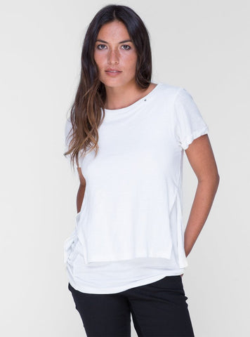 Laiba T-Shirt      SHELL WHITE