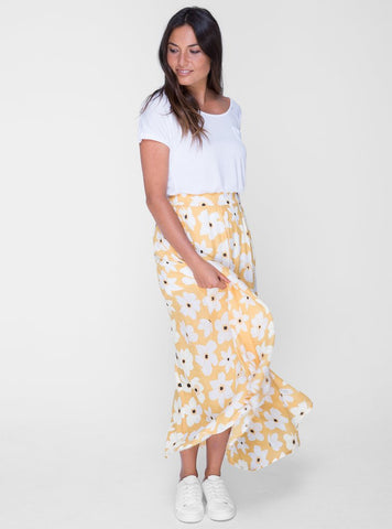 Lottie Maxi Skirt          WILDFLOWER