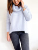 Fluffy Turtle Neck Knit    LAVENDER