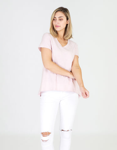 Thornton Tee    BLUSH MARLE
