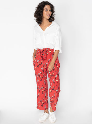 Eivor 7/8 Pant        RUBY FLOWERS