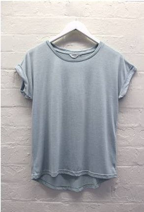 Rolled Sleeve Tee       MINT