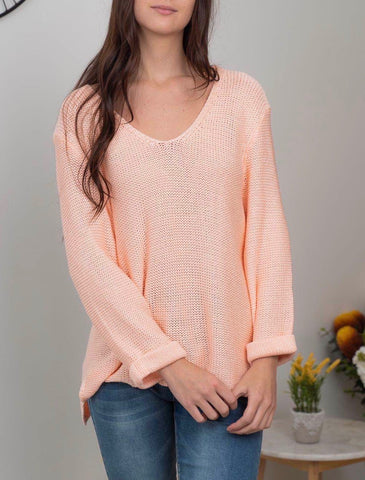 Mila Knit      PEACH