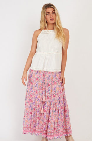 Liberty Skirt      PINK BLOSSOM