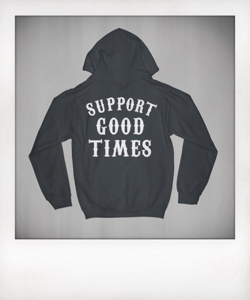 Support Logo Pullover Hoodie