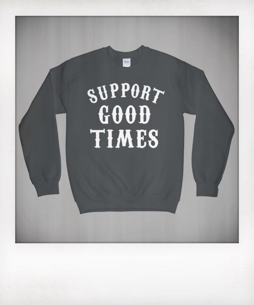 Support Logo Sweatshirt