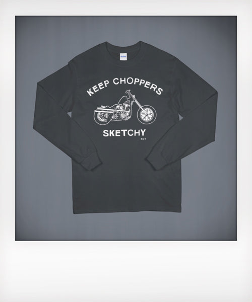 Sketchy Knucklehead Long Sleeve