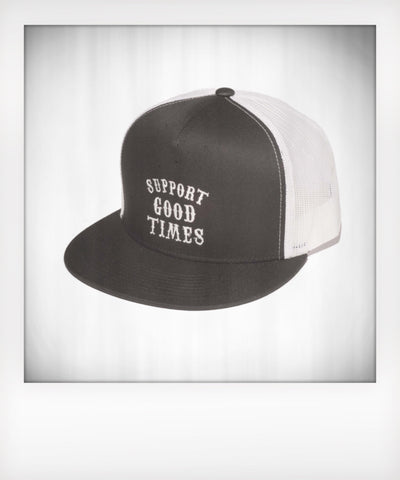 Support Logo Mesh Trucker Snapback Choice of Color