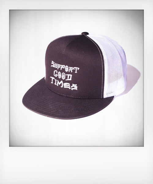 Thrasher Bootleg Logo Mesh Trucker Snapback Choice of Color