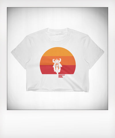 Sundown Cropped Tee