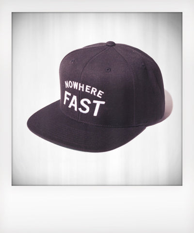 Nowhere Fast Six Panel Snapback