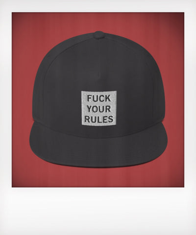 Fuck Your Rules Five Panel Snapback