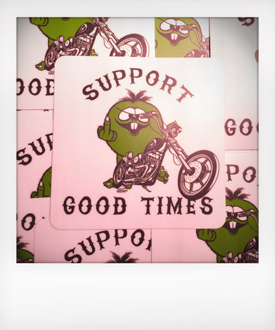 Choppers and F#%k You Sticker