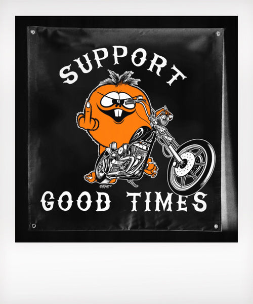 Choppers and Fuck You Banner