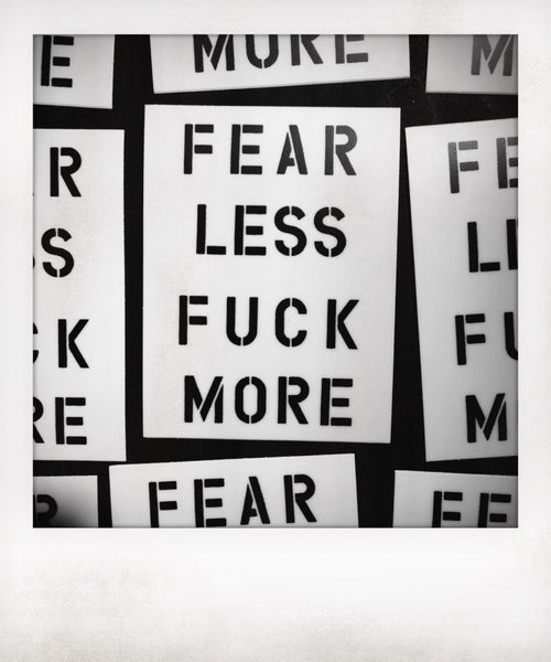 Fear Less Fuck More Sticker
