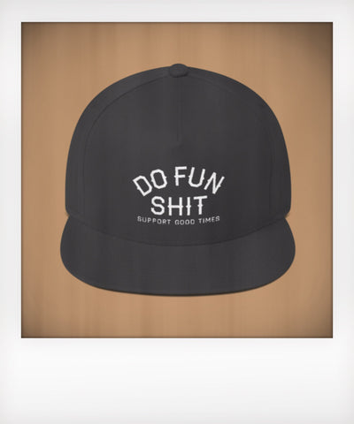 Do Fun Shit Five Panel Snapback