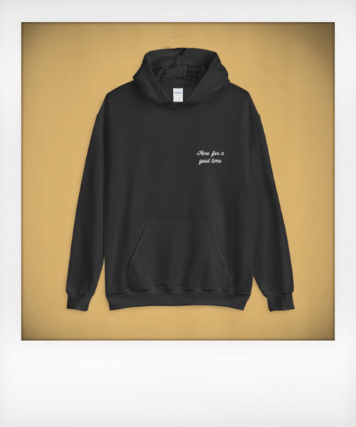 Not A Long Time Pullover Hoodie