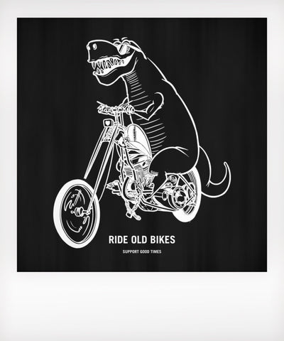Ride Old Bikes Baby Tshirt