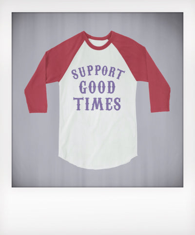 Support Logo Raglan
