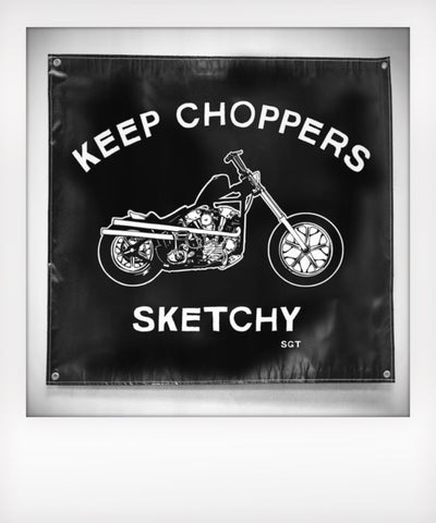Sketchy Knucklehead Banner