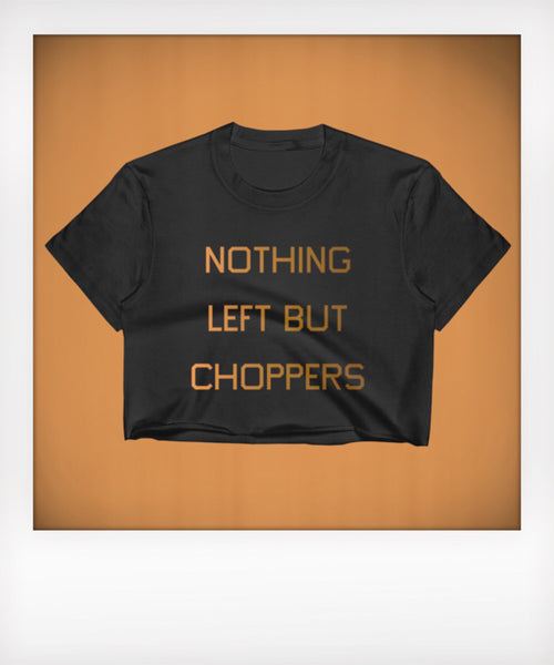 Nothing Left Cropped Tee