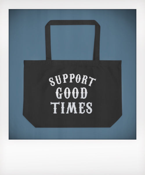 Support Logo Tote