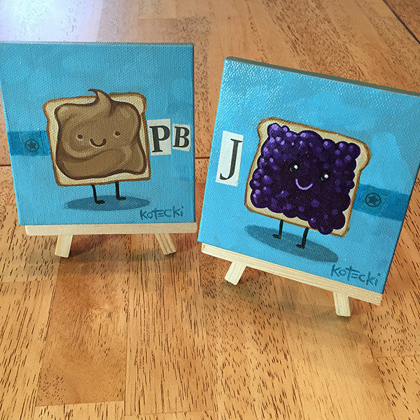 Peanut Butter & Jelly Original Art