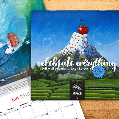 Celebrate Everything 2018 Wall Calendar