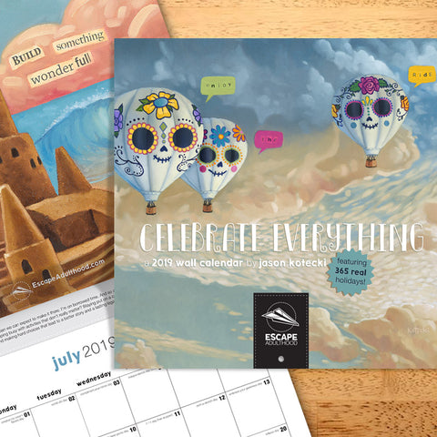 Celebrate Everything 2019 Wall Calendar