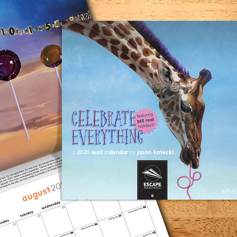 Celebrate Everything 2020 Wall Calendar