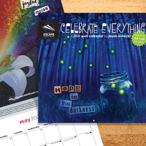 Celebrate Everything 2021 Wall Calendar