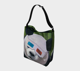 3D Panda Day Tote Bag
