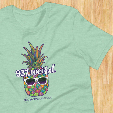 93% Weird (Pineapple) T-Shirt