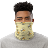 Bee Optimistic Neck Gaiter