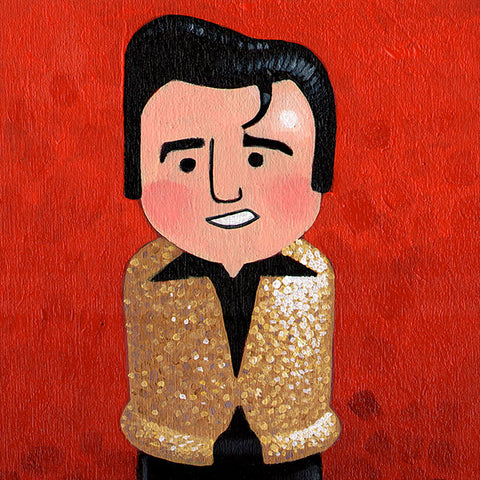 Elvis Original Art