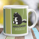 Adulthood Stinks Mug