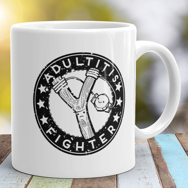 Adultitis Fighter Mug