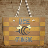 Bee Optimistic Weekender Bag