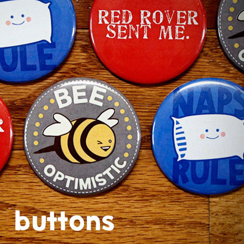 Escape Adulthood Buttons (Series 1)