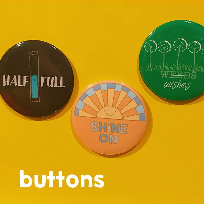 Escape Adulthood Buttons (Series 3)