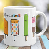 Different Is Cool Mug